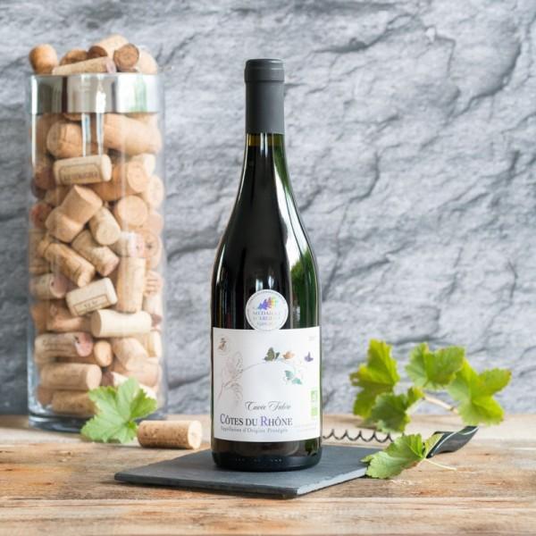 Côtes du Rhône Cuvée Fabre BIO 1