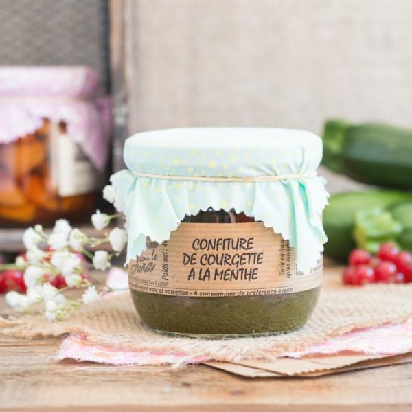 Zucchini Mint Jam