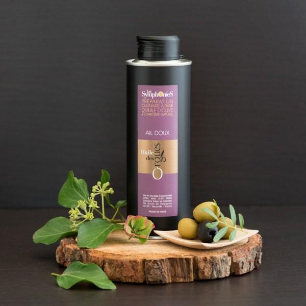 Huile d'olive Ail doux 250ml