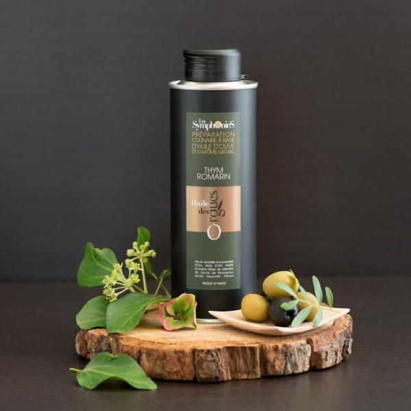 Huile d'olive Thym & Romarin 250ml