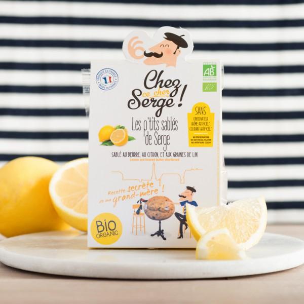Sablés au beurre, au citron...
