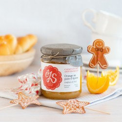 Confiture d'orange au pain...
