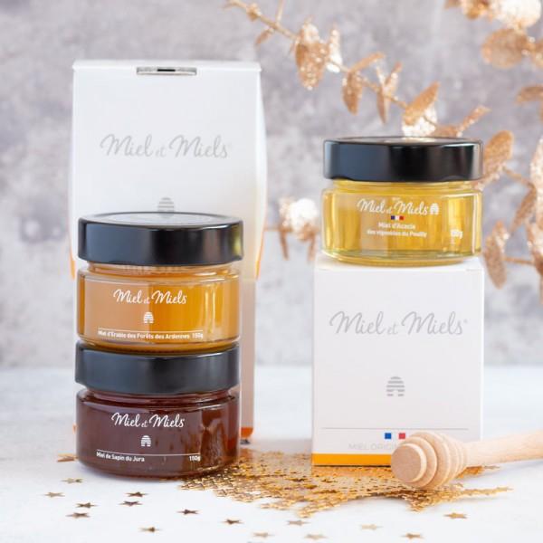 Coffret de miels gourmands
