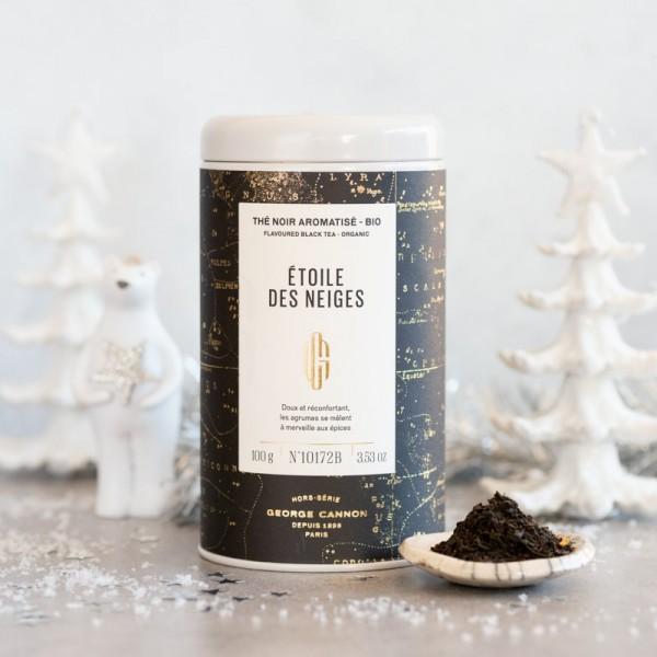 Thé de Noël Etoile des neiges