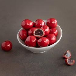 Perles de framboise