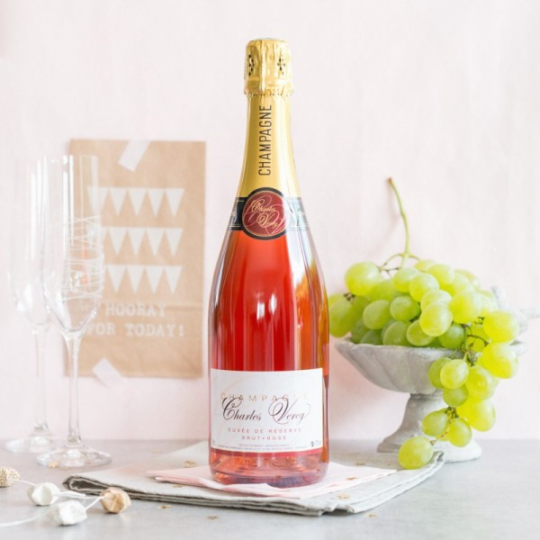 Champagne Charles Vercy Rosé 1