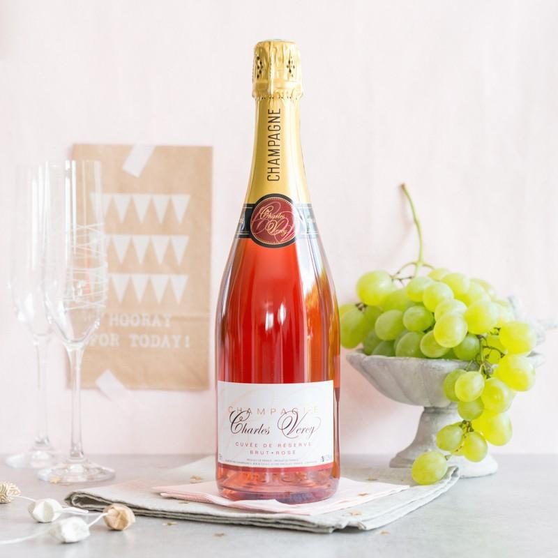 Champagne Charles Vercy Rosé 1