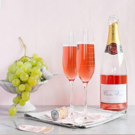 Champagne Charles Vercy Rosé 2
